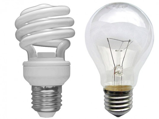 Incandescent vs CFL
