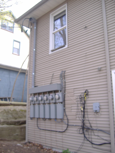 Electric Service Upgrade Installation Photos - new jersey