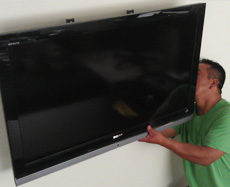 Wall Mounted TV Installation harding nj
