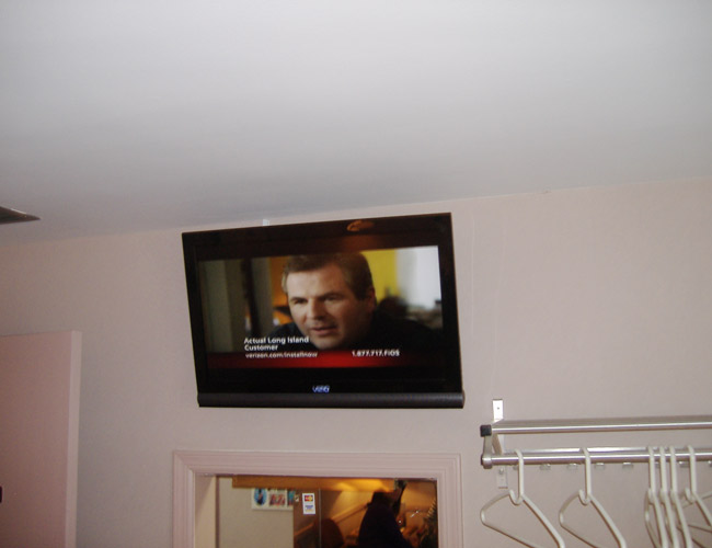 Wall Mount TV Installation Photos - wharton nj